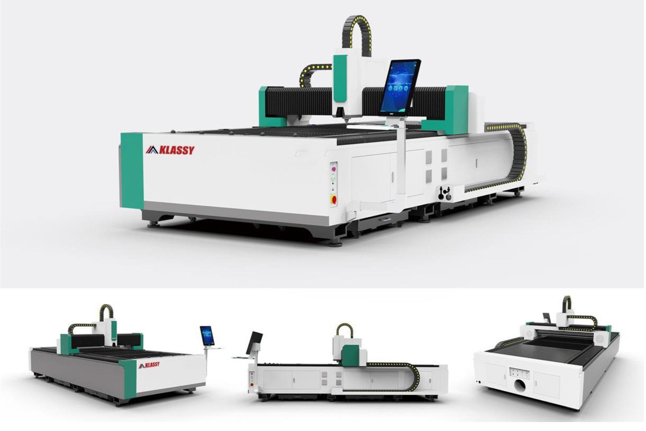 Máy Cắt Laser CNC Klassy Bàn Cắt Đơn, Khung Đúc