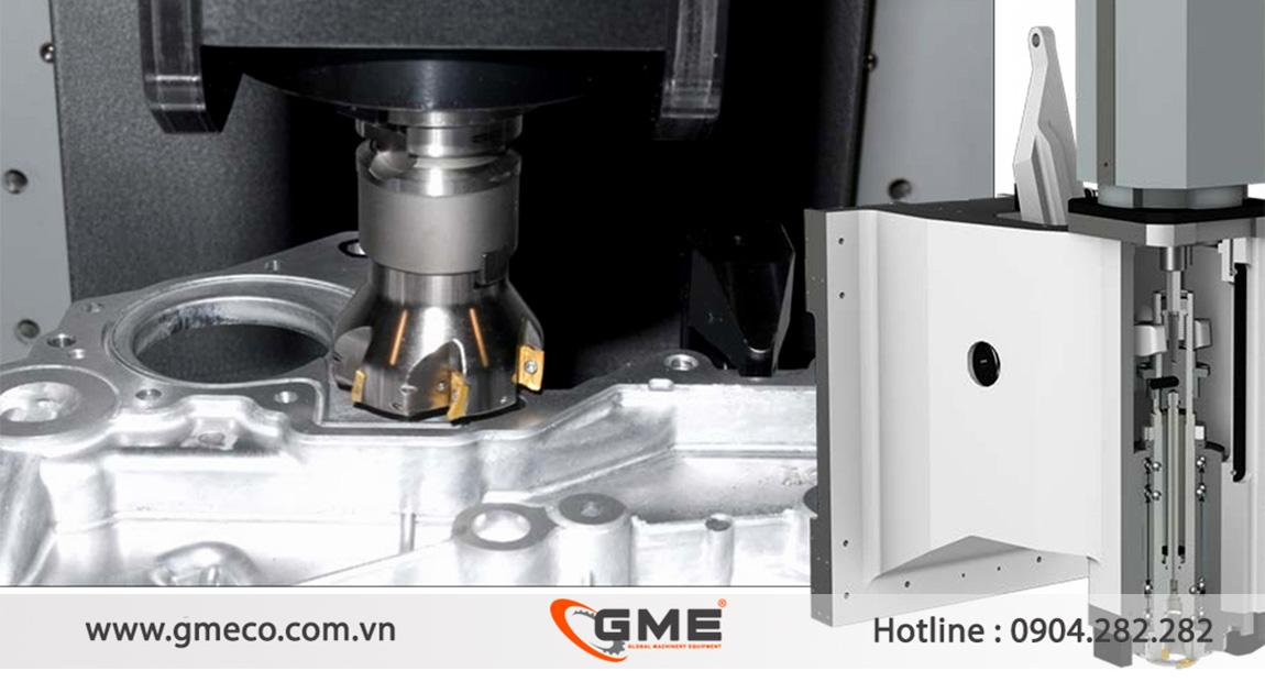 Máy phay CNC Ugint hoạt động ổn định